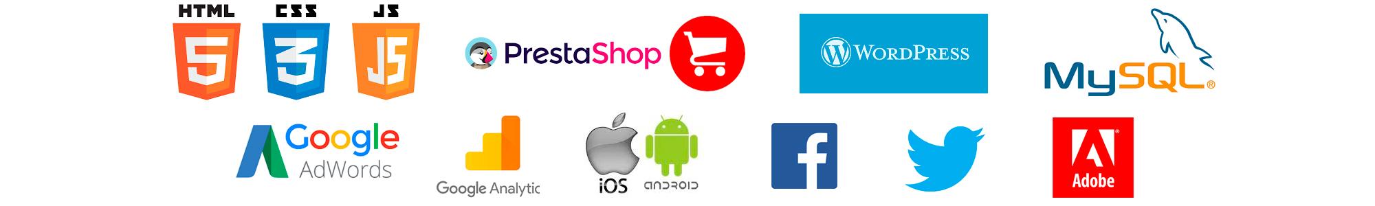 Logotipos de diseño web